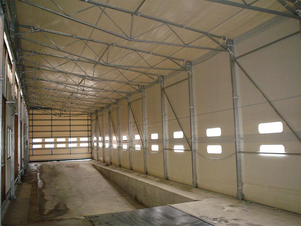 luciano tunnel, tunnel pvc, capannoni industriali, coperture pvc