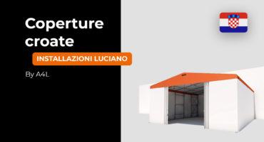 Coperture mobili, capannoni in PVC