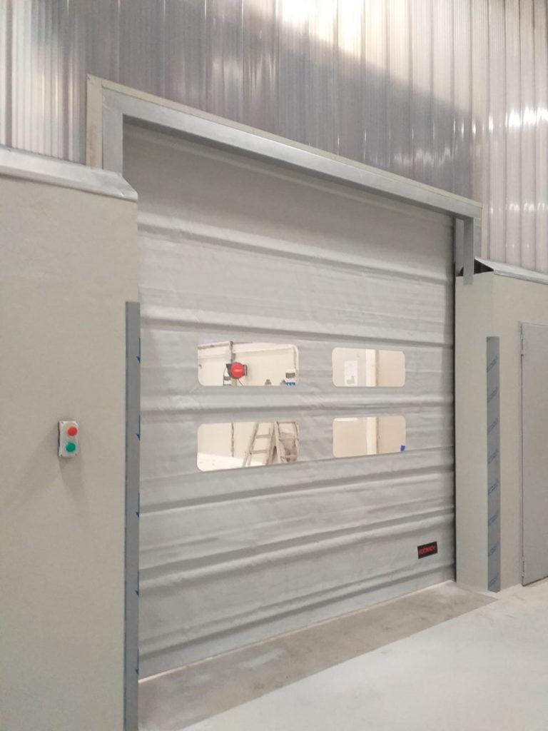 Porte rapide in PVC